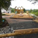 der neue Spielplatz